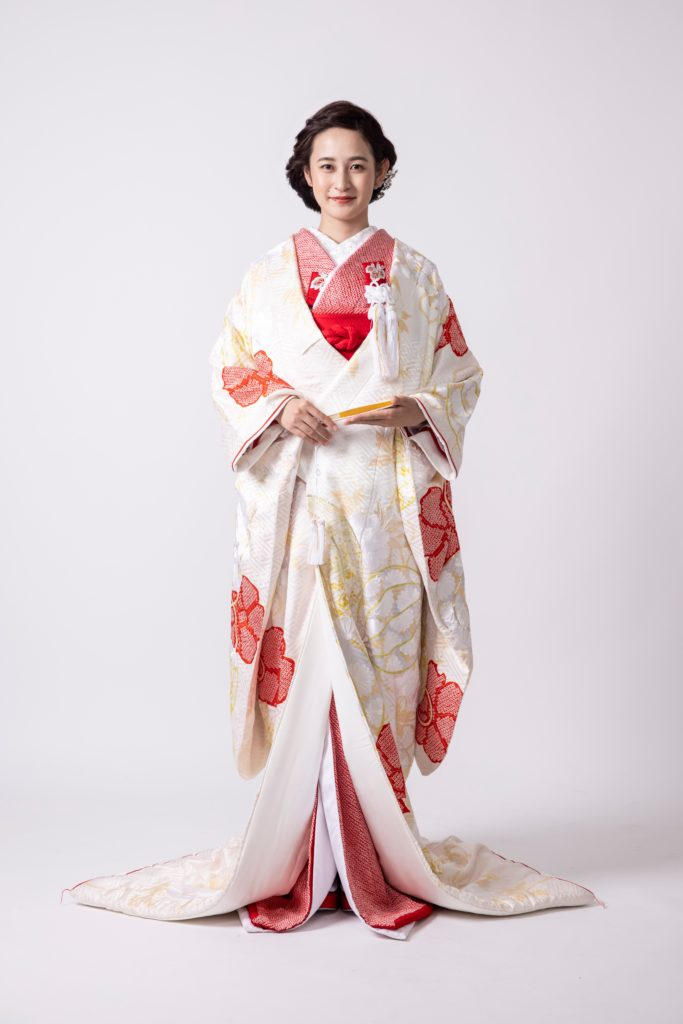 Fiore Bianca KIMONO JINJYA フィオーレ ビアンカ 神社 神社挙式 着物 白無垢 色打掛 神社婚 神前式