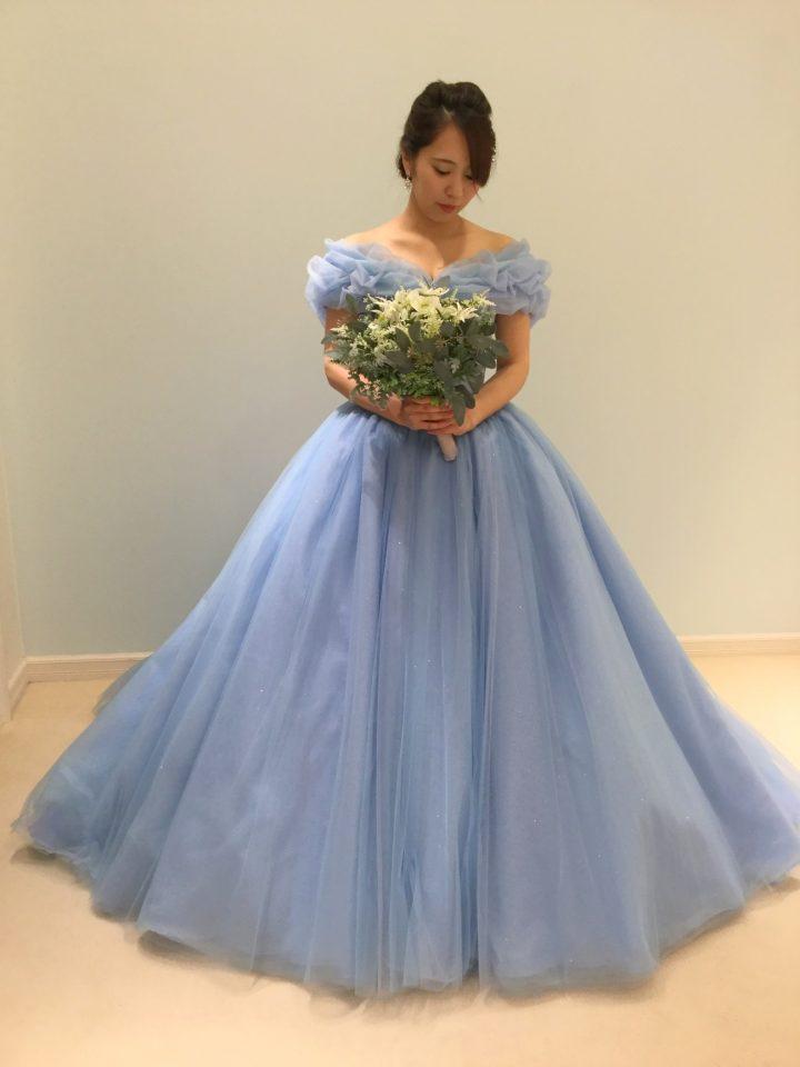 シンデレラのようなFiore Bianca(フィオーレビアンカ)オリジナルカラードレス