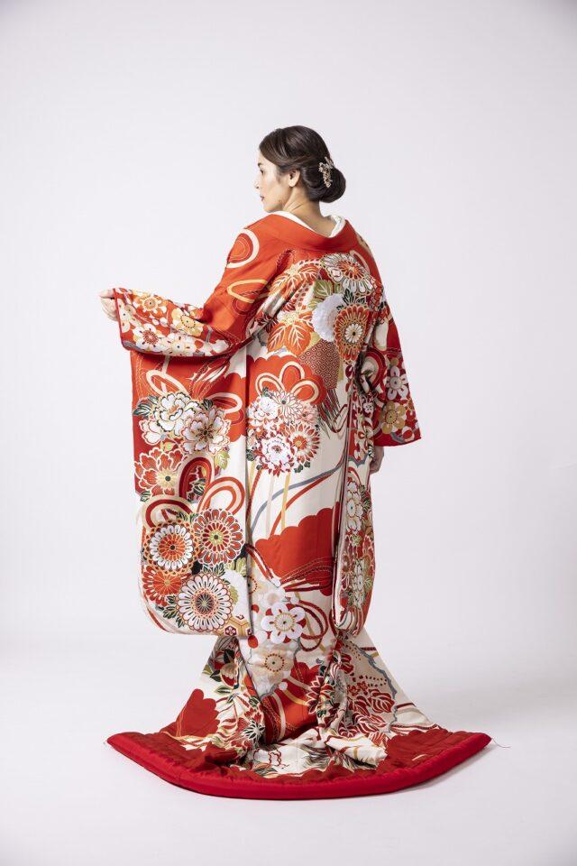 色打掛 赤 Dresses限定和装コーディネート ドレッシーズ