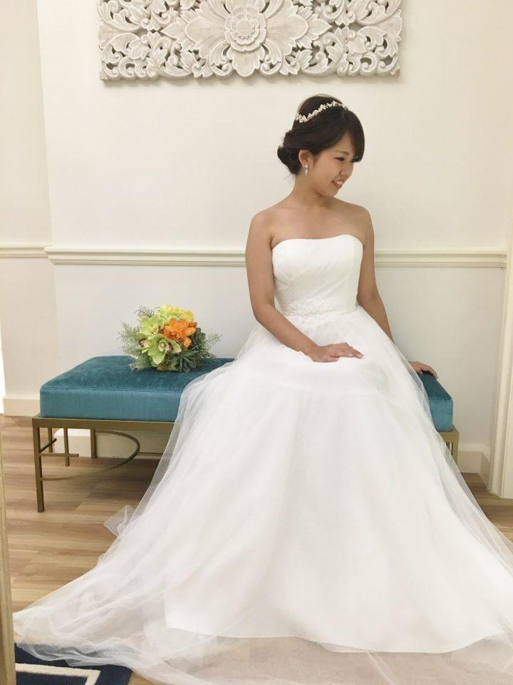 リゾートウエディングにおすすめ  Rosa Claraのウェディングドレス