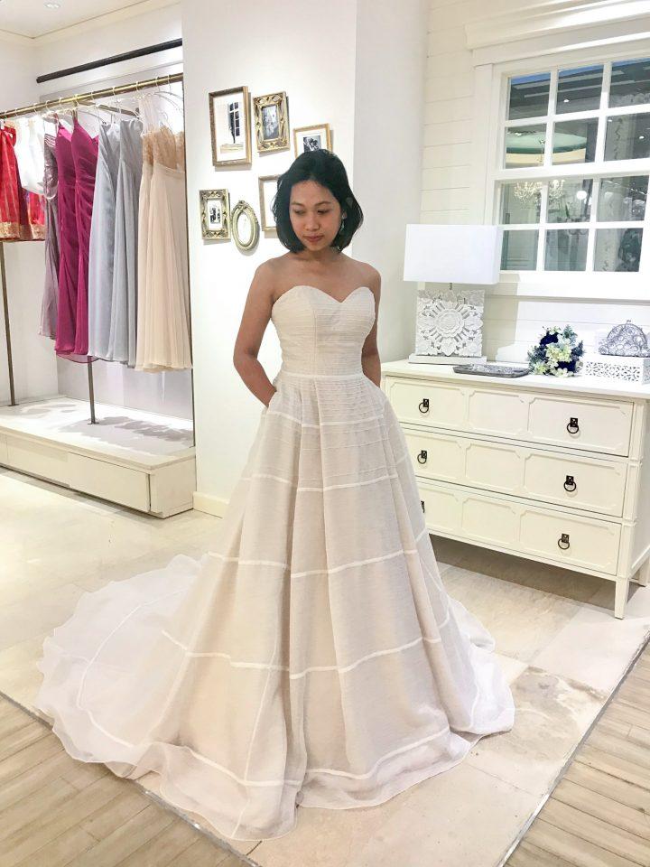 周りと差を付けたい花嫁様へ!KELLY FAETANINI(ケリーファッタニーニ)のカラードレス