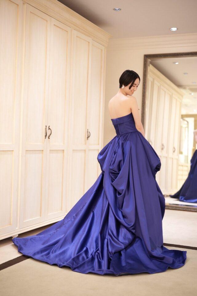 "Fiore Bianca(フィオーレビアンカ)オリジナル ネイビー ""Nigella""(ニゲラ)"