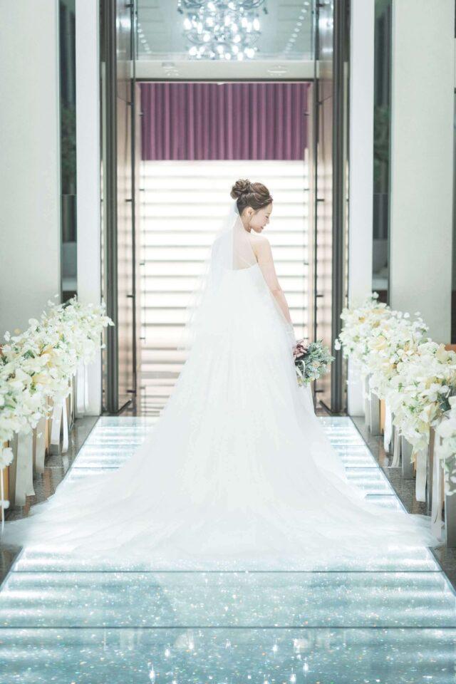 カノビアーノ 福岡 結婚式場 アットホームウェディングドレス