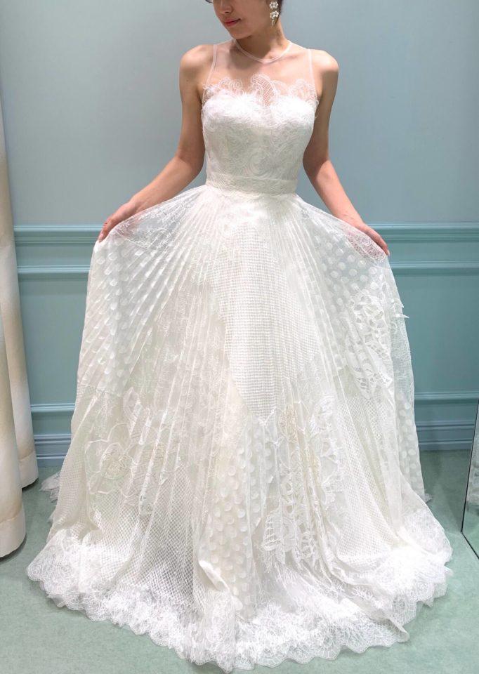Yolan Cris(ヨーランクリス) シャンテリーレース ドレス
