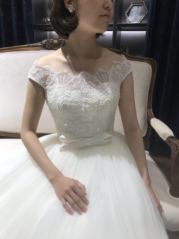 ロサクララの袖ありドレス-min