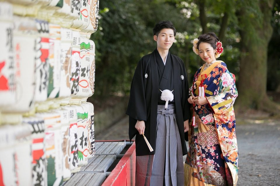 限定6組 人気の護国神社の模擬挙式に参加できます!あのJUNO衣裳の6万円の特典付き♡