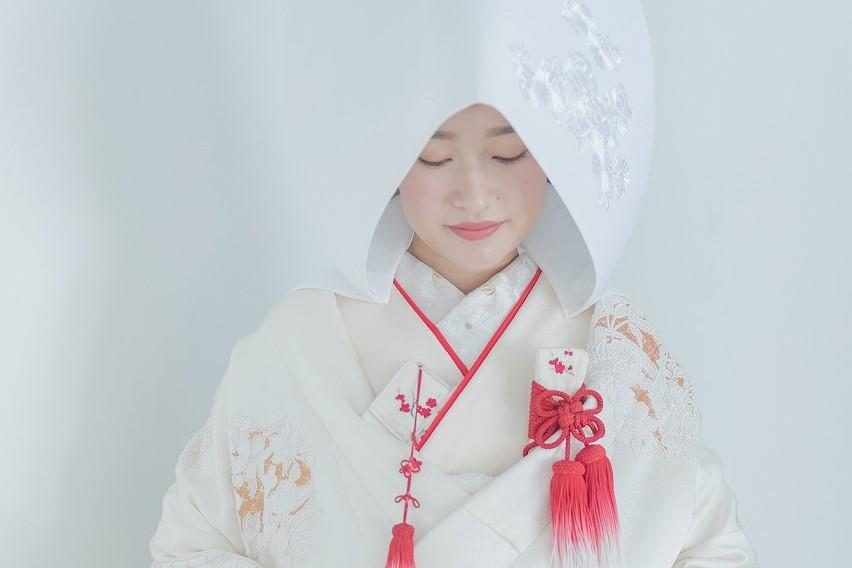 白無垢 綿帽子 JUNO