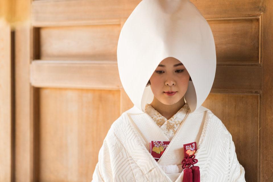 白無垢 綿帽子 JUNO Dresses