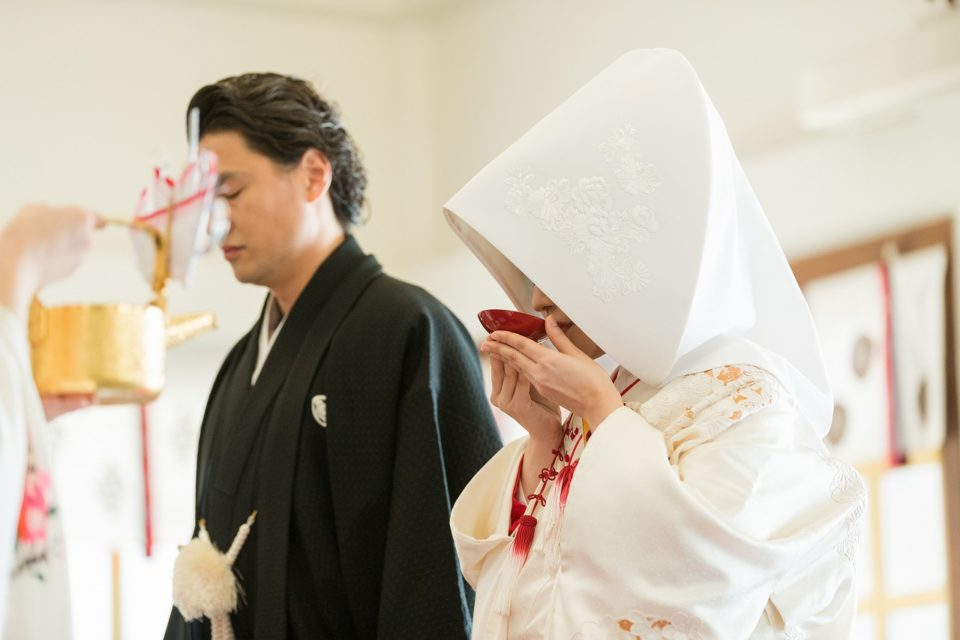 護国神社 福岡県 Dresses 白無垢