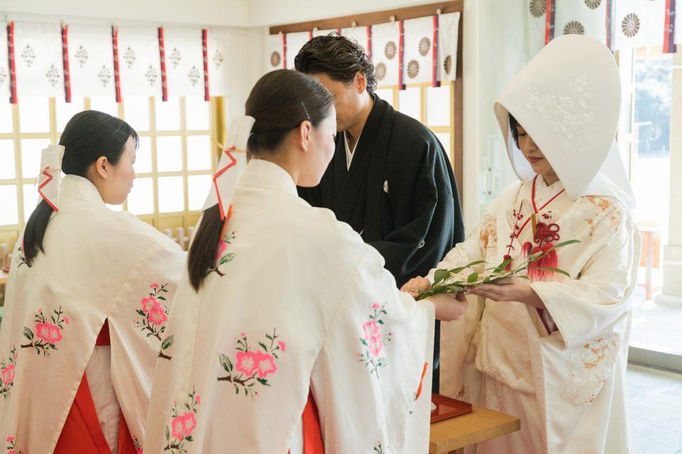 護国神社 神社挙式 福岡 JUNO