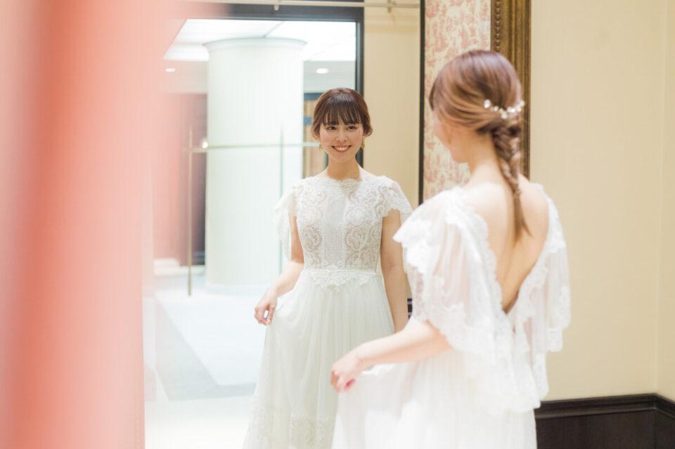 inmaculadaのスレンダーウェディングドレス