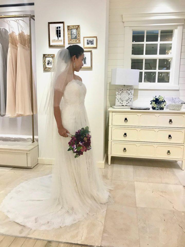 本当はマーメイドラインのドレスが着たい!KELLY FAETANINI(ケリーファッタニーニ)のドレスはいかがですか?