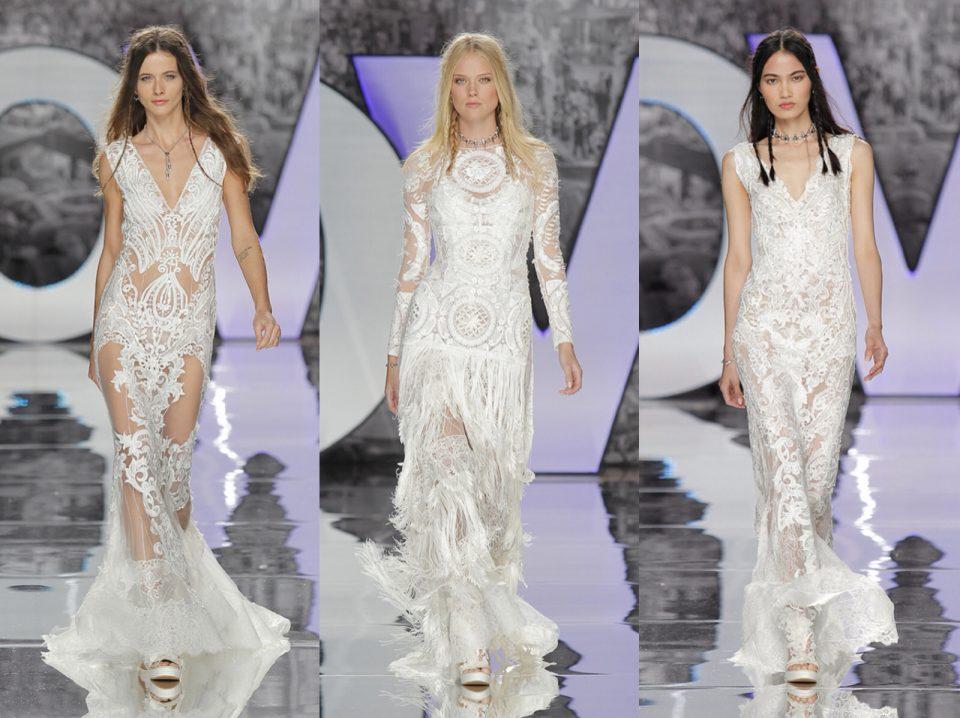 海外で人気のTattoo laceドレス