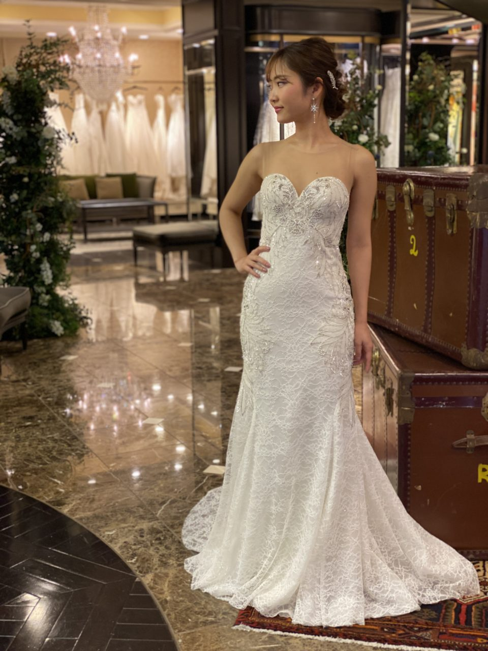 KENNETH POOL マーメイドライン ケネスプール ウェディングドレス