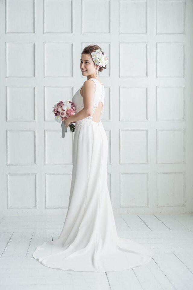 Fiore Bianca(フィオーレビアンカ)で取り扱っているNouvelle AMSALE(ヌーベルアムサーラ)のウェディングドレス