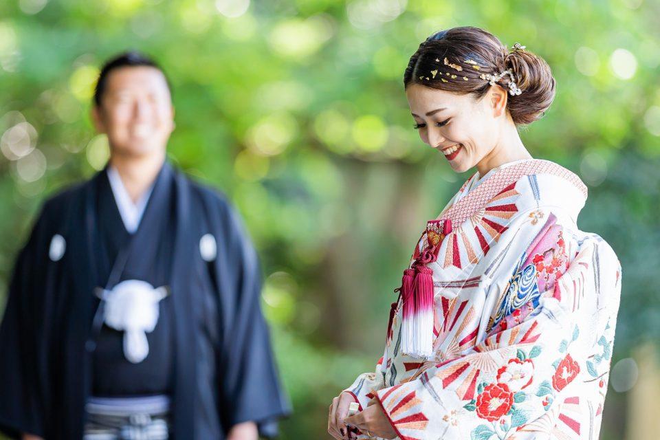 色打掛 JUNO Dresses 神社結婚式