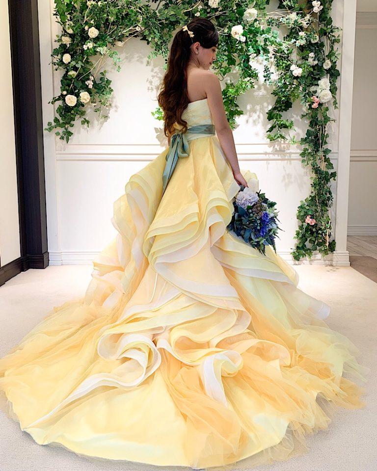 大人の華やかさが光るFiore Bianca(フィオーレビアンカ)オリジナルカラードレス
