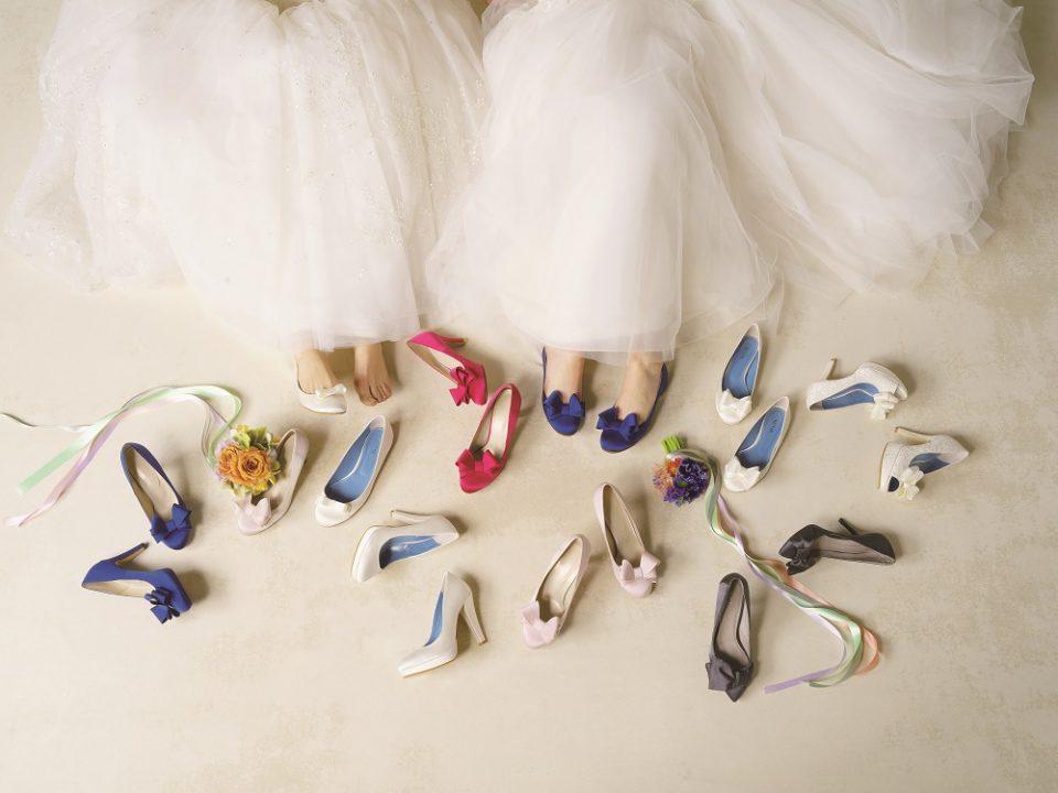 こだわって選びたい花嫁様の足元style