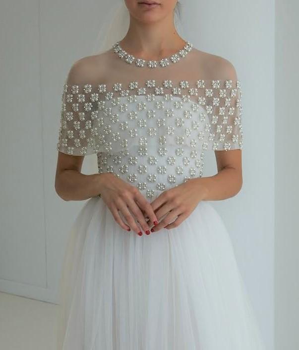ウェディングドレス08