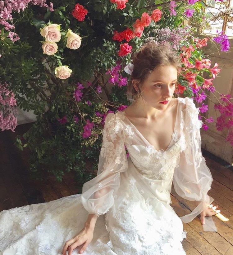 670264f2b66d4 ウェディングドレス Elizabeth Fillmore 03-20214 Fiore