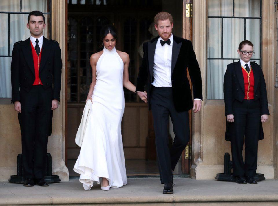 6661745dbf3d7 メーガン・マークル、「ステラ・マッカートニー」のドレスで晩餐会へ ...