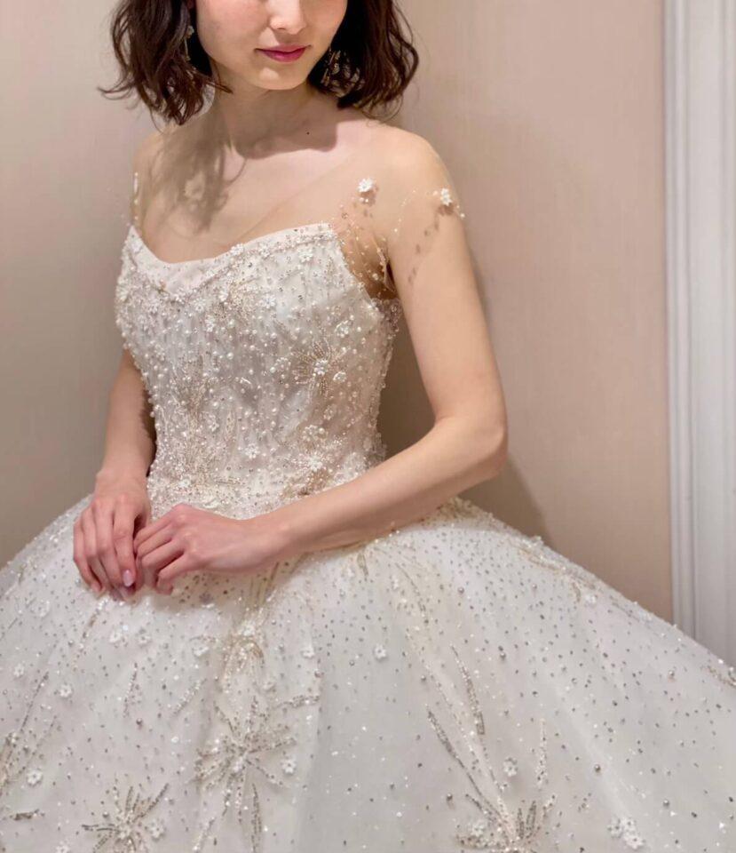INES DI SANTO(イネスディサント)  ボールガウン ウェディングドレス