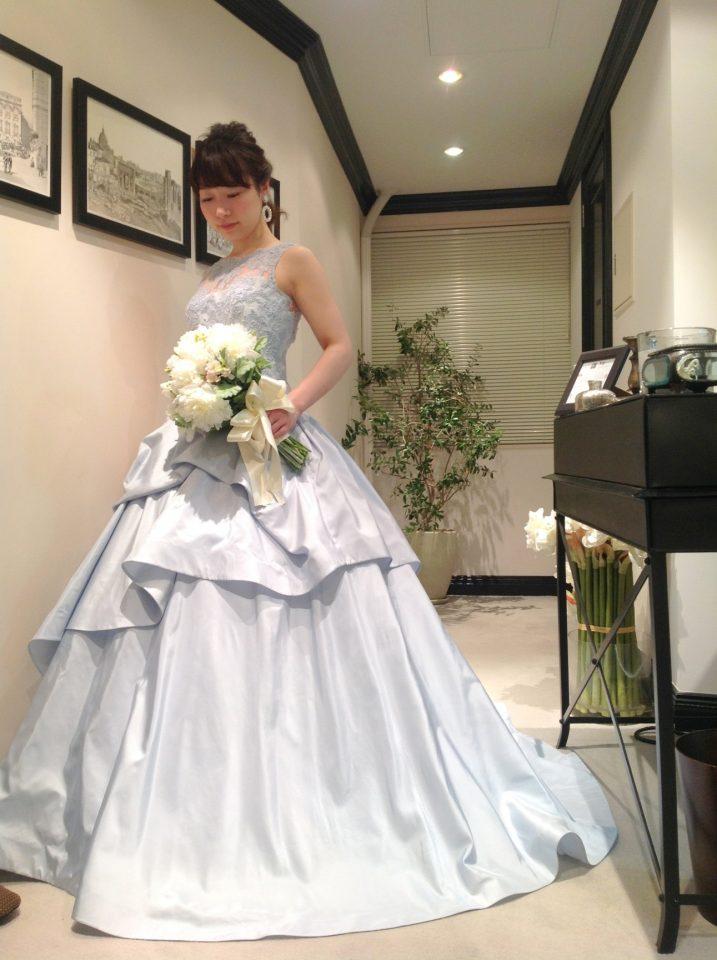 KENNETH POOL(ケネスプール)初のカラードレス