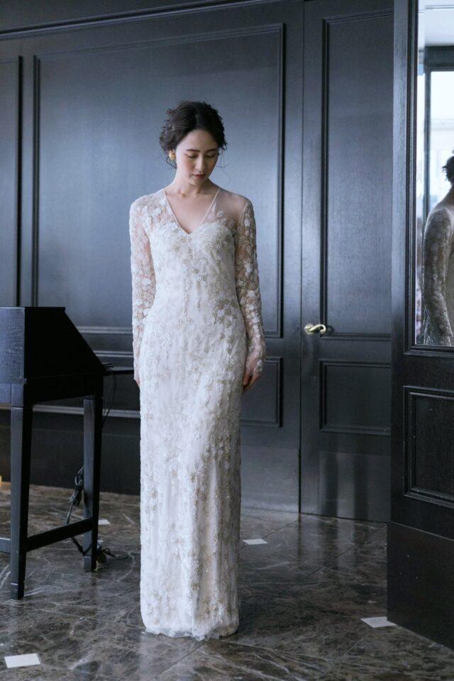 NAEEM KHAN ナイームカーン マーメイドドレス スレンダードレス Dresses
