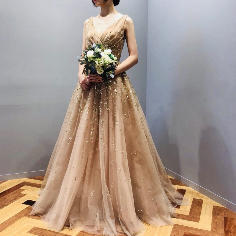 世界中の花嫁様を素敵に美しく彩る Reem Acra(リームアクラ)のドレス。