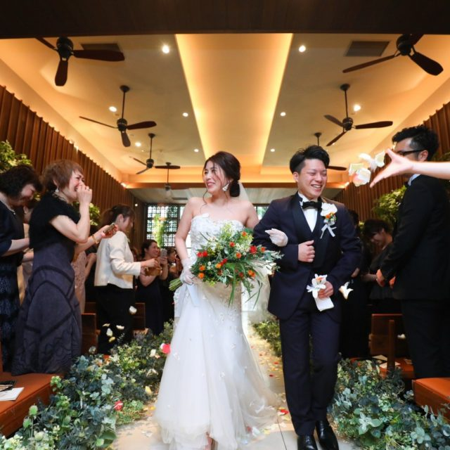 WITH THE STYLE(ウィズ ザ スタイル) 結婚式 挙式 退場