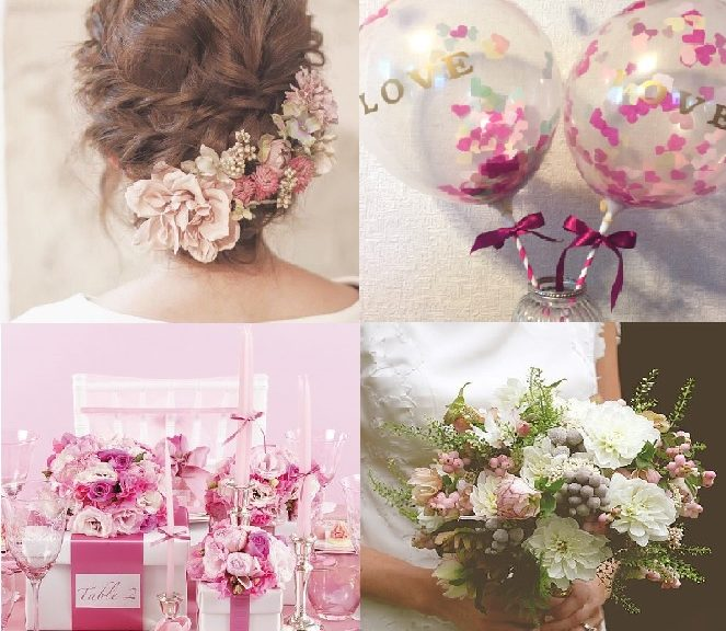 My Wedding Style White×Pink