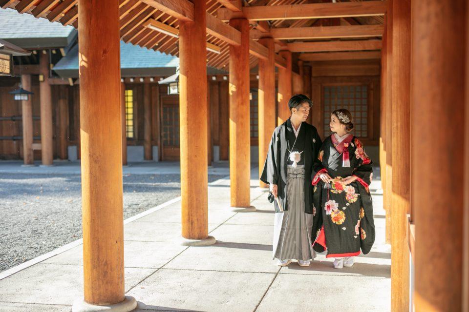 北海道神宮での結婚式