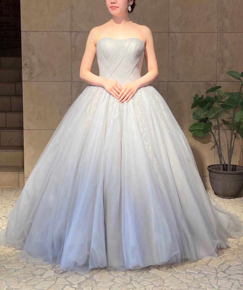 THE SWEET COLLECTION by JUNO(ザスウィートコレクションバイジュノ)オリジナルドレス グレー グリッター