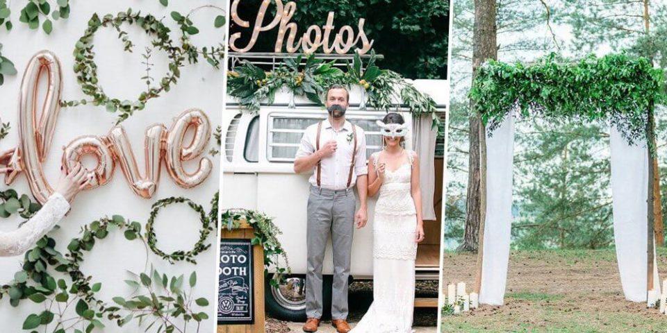 フォトブースとは?結婚式に欠かせないフォトブースのアイデアと人気なデザイン