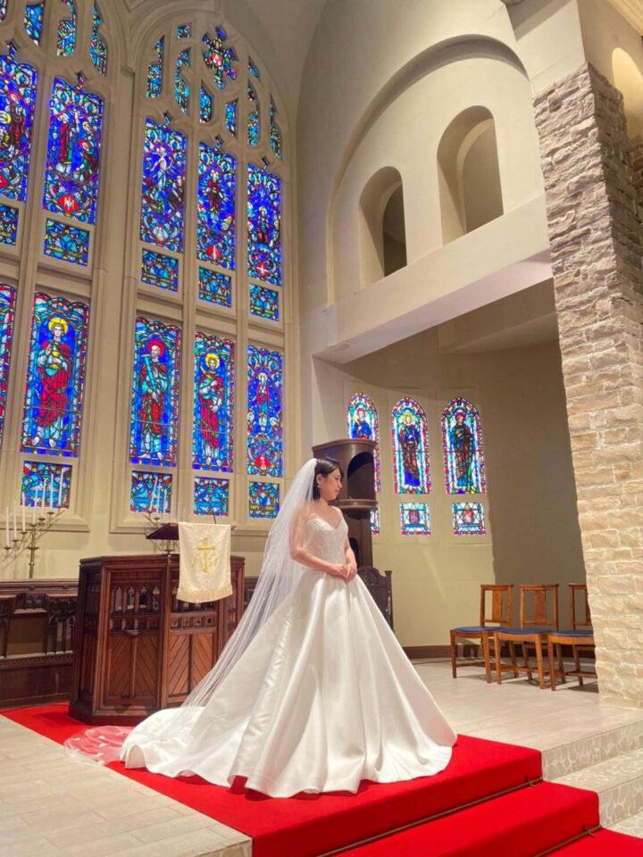 オーシャン&リゾートマリゾンの大聖堂におすすめのウェディングドレス