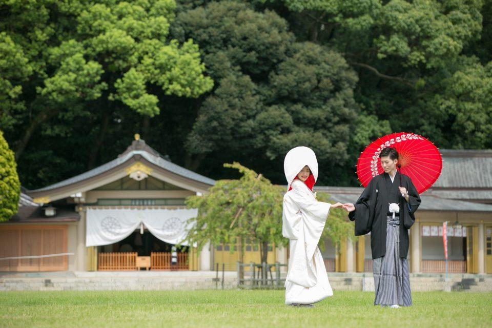 福岡で人気♡おすすめ神社挙式をご紹介します!