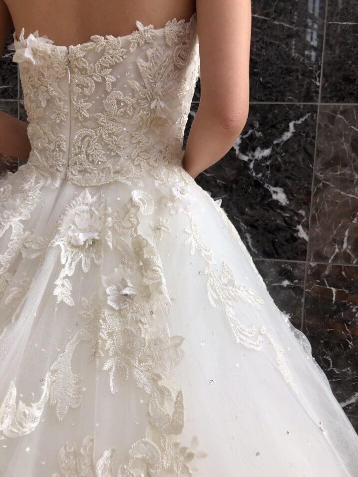 マルケーザのウェディングドレス