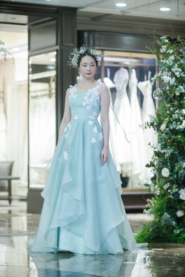 AラインLeaf for Brides( リーフフォーブライズ)カラードレス