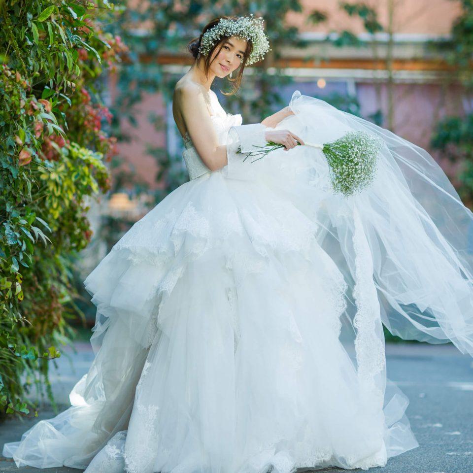 ドレスショップJUNO(ジュノ)のMARCHESA(マルケーザ)を着用した花嫁さま/Dresses