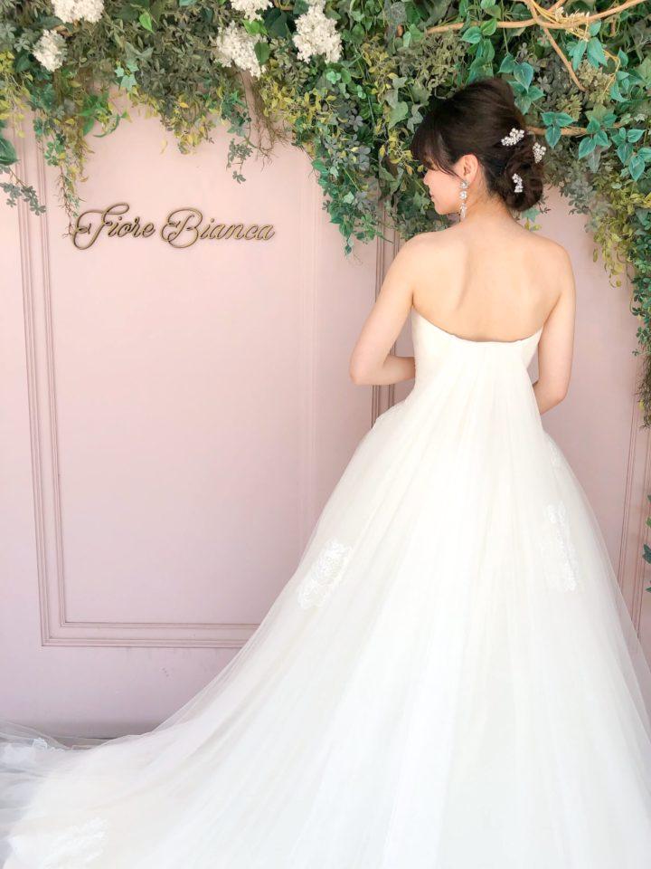 柔らかなチュールが特徴的♡ナチュラルなFiore Bianca(フィオーレビアンカ)オリジナルドレス