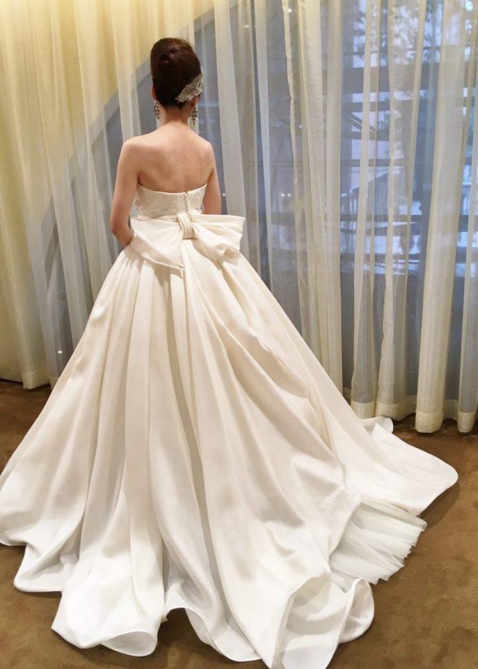 アントニオリーバAラインのウェディングドレス