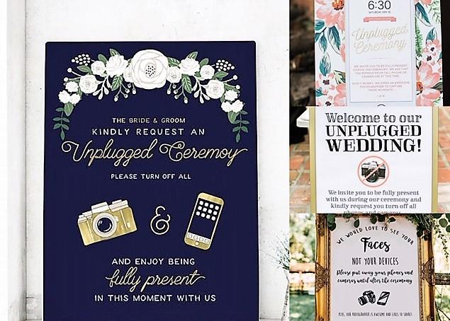 携帯電話を使わない結婚式?アンプラグドウェディングのトレンド