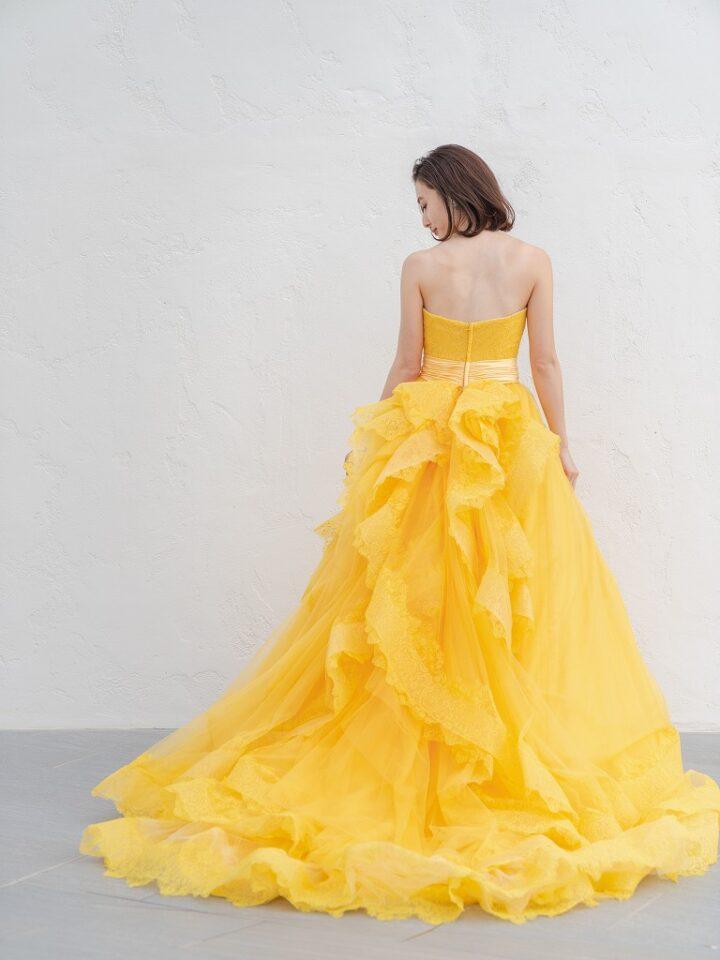 オリジナルドレス Aライン チュール