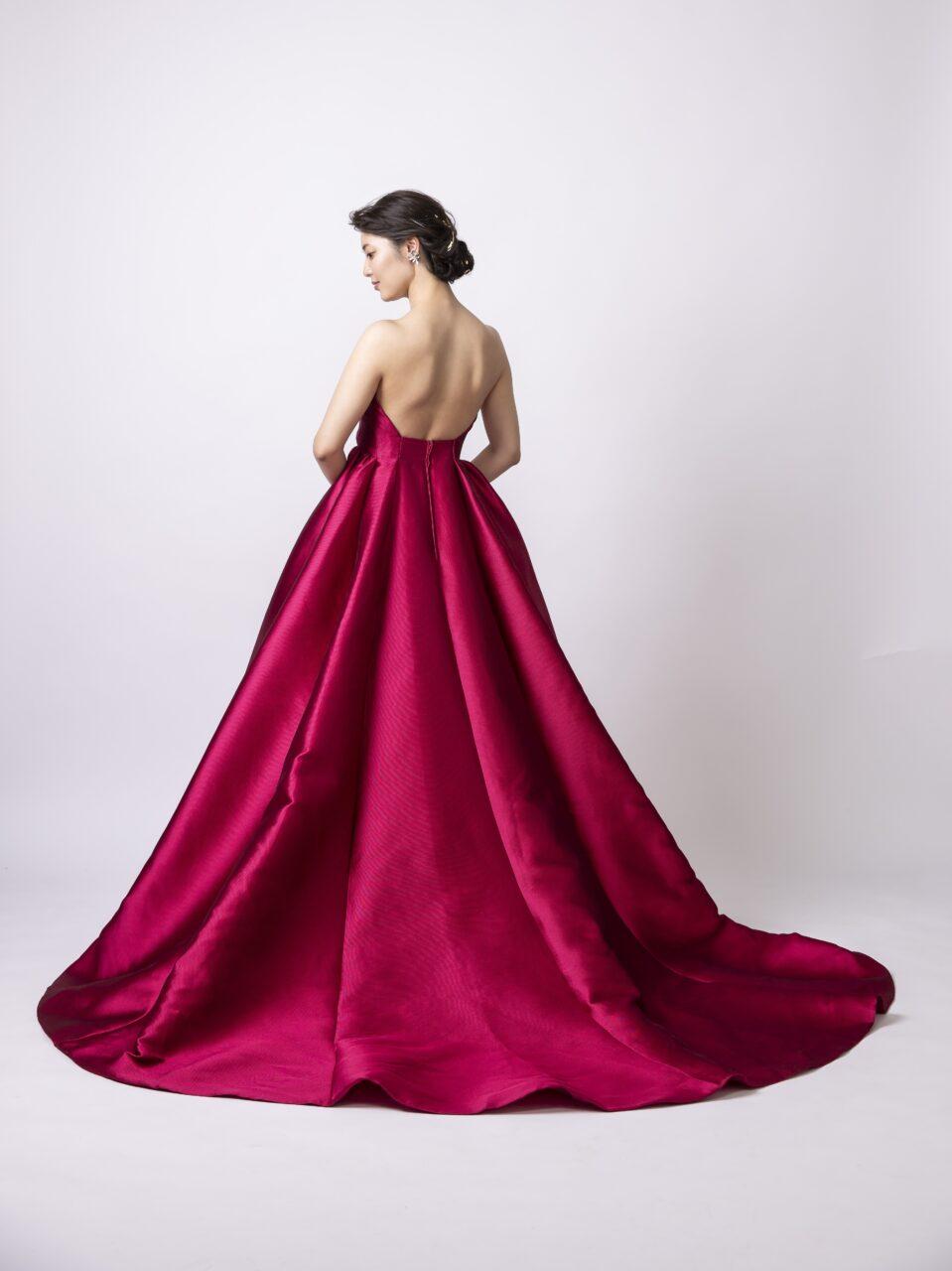 Fiore Bianca カラードレス レッド