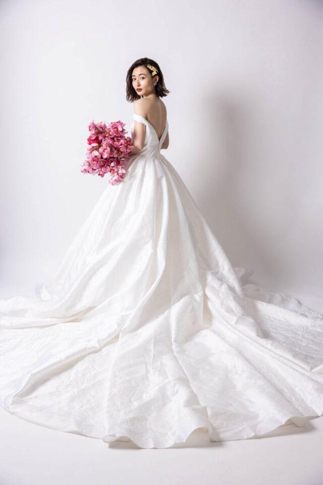 Dresses ウェディングドレス オフショルダードレス FioreBianca