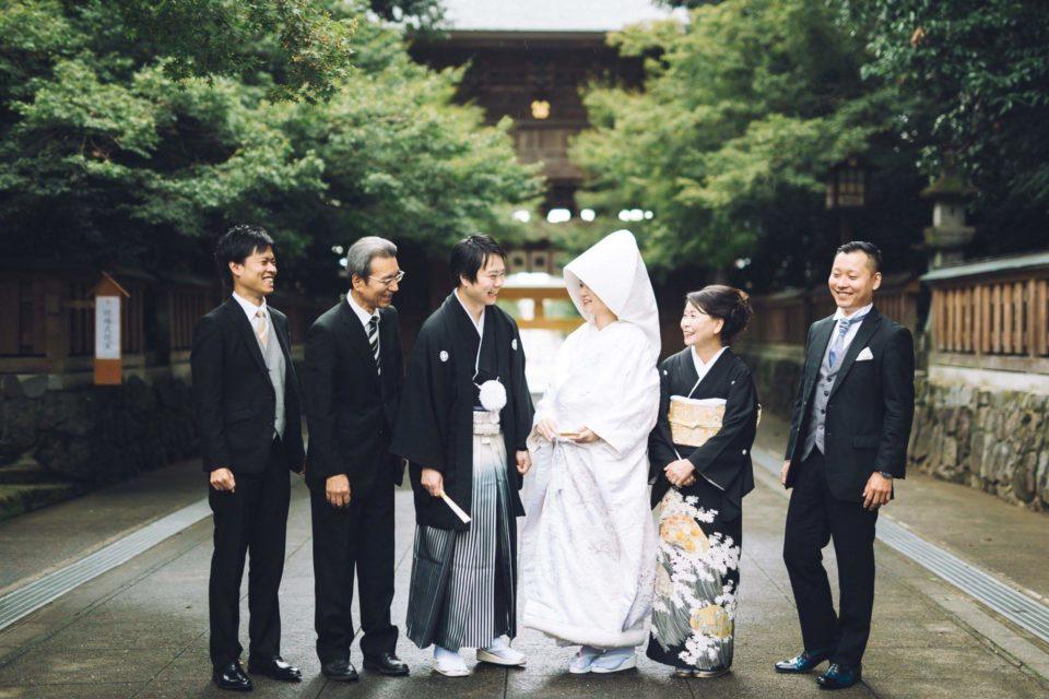健軍神社 白無垢・紋付/JUNO