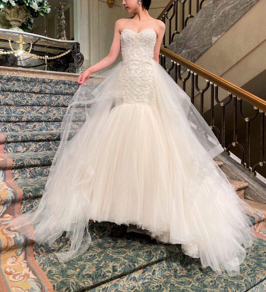 KENNETH POOL(ケネスプール) マーメイドライン ウェディングドレス