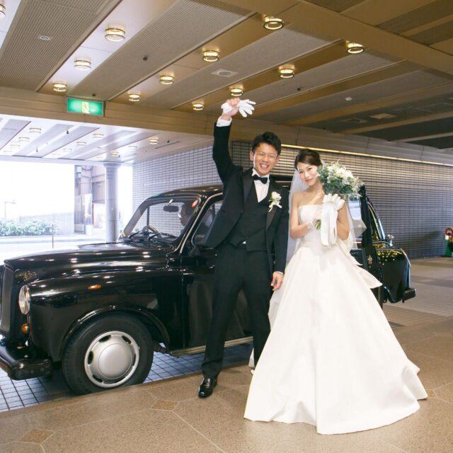 ホテル日航福岡 CHAPEL PRIERE チャペルプリエール 挙式 ウェディング 車