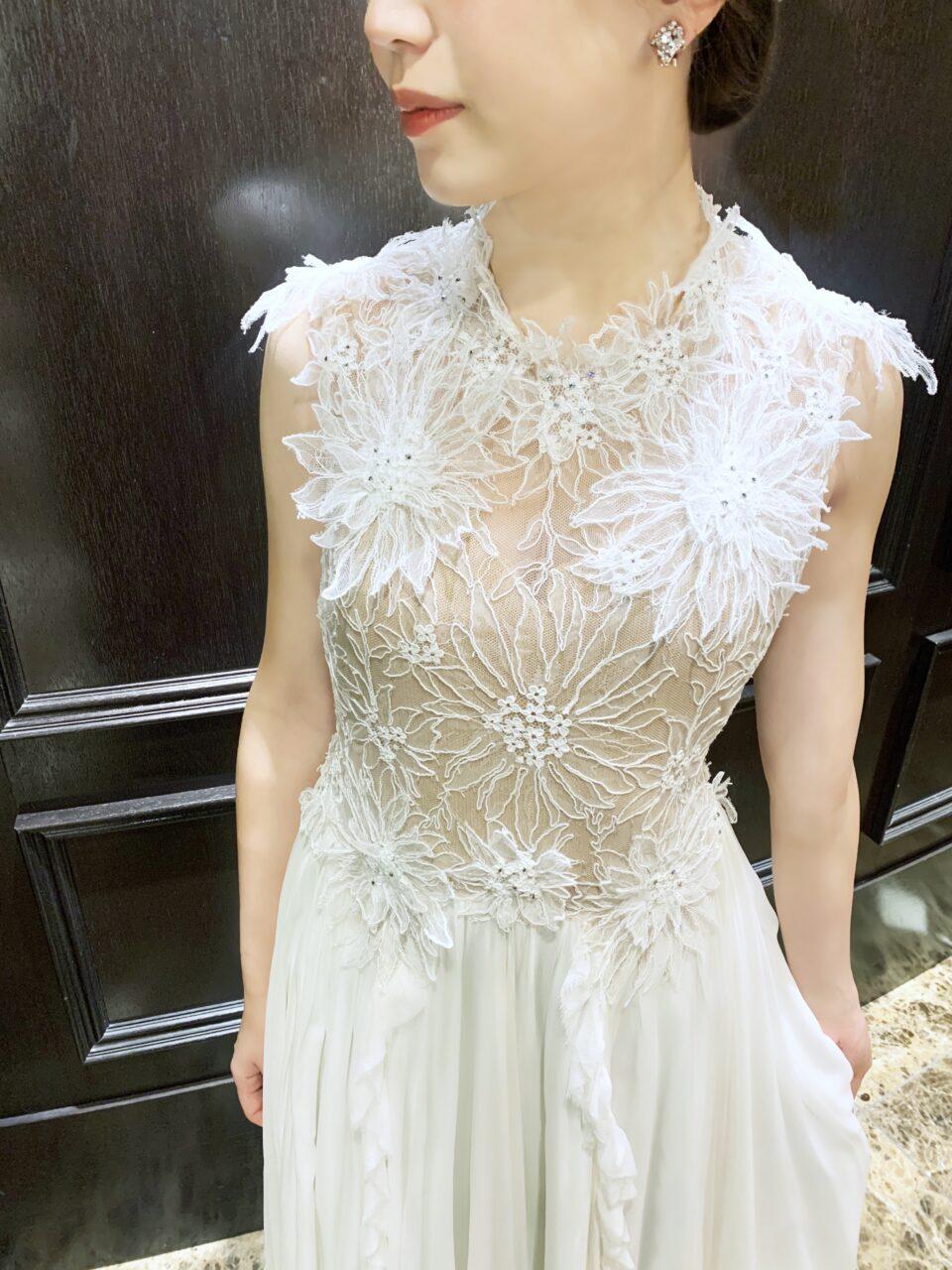 Dana Harel(ダナハレル) フラワーモチーフドレス