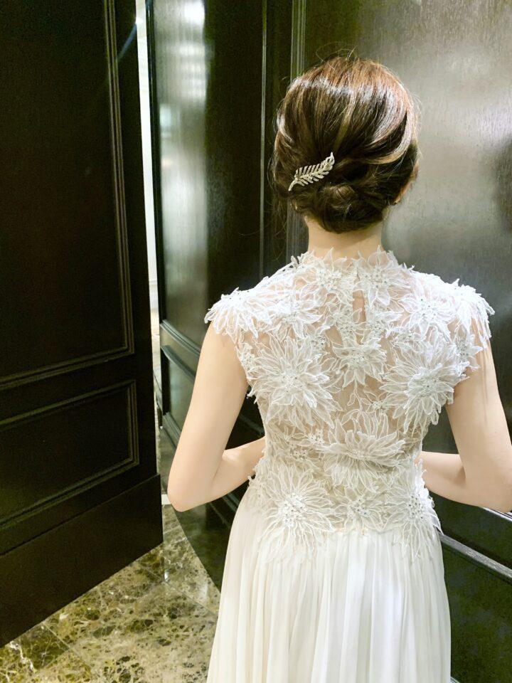 Dana Harel(ダナハレル)のフラワーモチーフドレス